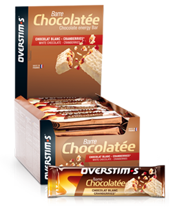 Barrita chocolate blanco-arándanos
