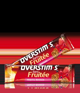 Barrita energética con frutas