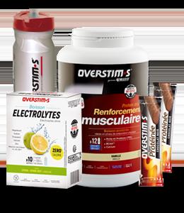 Pack desarrollo muscular